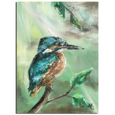 Kingfisher by Tanya Stefanovich