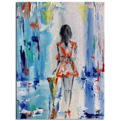 Lady abstract